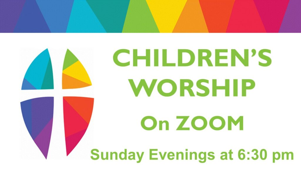 CHILDREN'S WORSHIP ON ZOOM-September 20, 2020