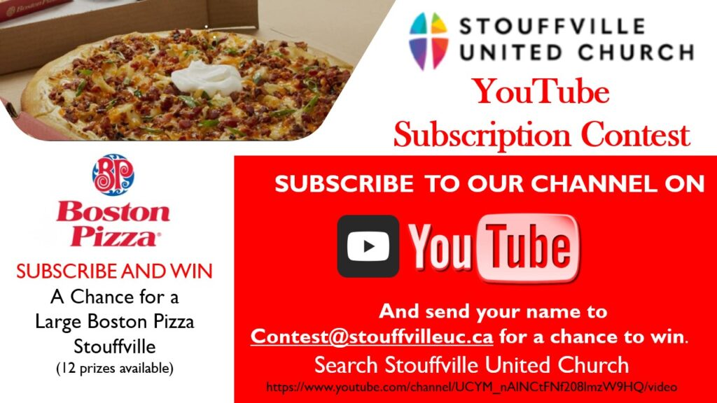 YOUTUBE SUBSCRIPTION CONTEST