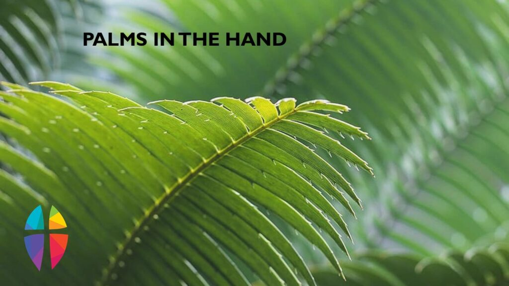 """PALMS IN THE HAND"" – SUNDAY, March 28, 2021"