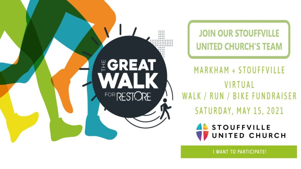 The Great Walk for RESTORE – May 15, 2021