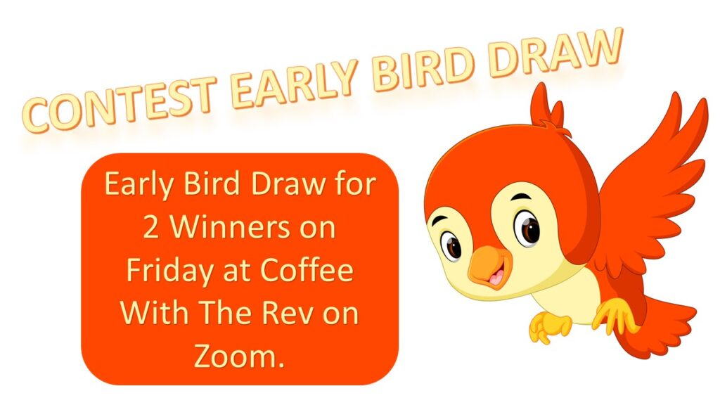 CONTEST EARLY BIRD DRAW – YouTube Channel