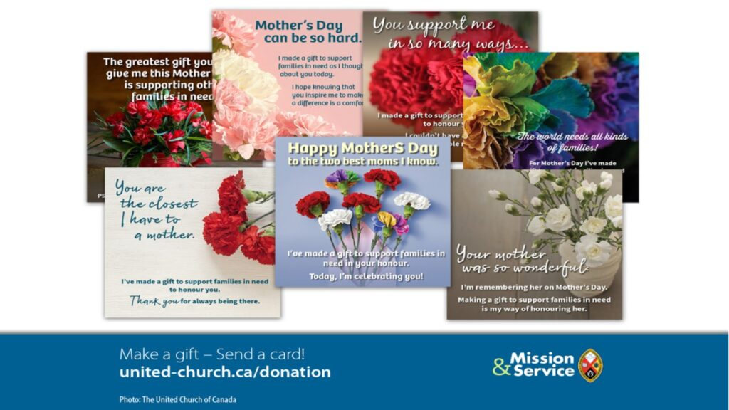 Mother's Day Can Be More – Mission and Service